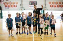 Kauno darželiai išsidalino bilietus į šalies darželinukų krepšinio čempionato finalą