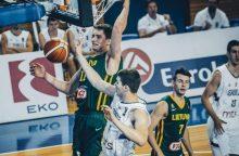 Jaunieji lietuviai pralaimėjo paskutinę Europos čempionato kovą Serbijai