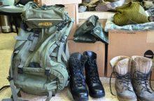 Į Ukrainą išvykę instruktoriai nuvežė ir surinktą materialinę paramą