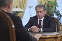 S. Šoigu: Rusijoje suformuotos informacinių operacijų pajėgos