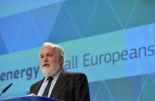 """ES komisaras: """"Nord Stream 2"""" projektas neatitinka ES tikslų"""