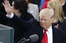 Svarbiausios JAV prezidento D. Trumpo inauguracinės kalbos citatos