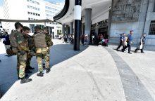"""Briuselio traukinių stoties sprogdintojas regis žavėjosi """"Islamo valstybe"""""""