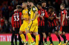 """Premier"" lyga: J.Defoe ""Bournemouth"" atnešė pirmąją pergalę"