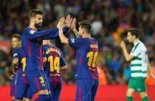 Ispanijoje – L. Messi pokeris