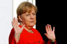 A. Merkel nesitiki iš susitiko su V. Putinu didelių rezultatų