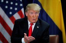 D. Trumpas vėl užsipuolė Paryžiaus klimato susitarimą