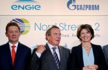 Rusijos ambasadorius: JAV grasinimai sankcijomis dėl dujotiekio yra neteisėti