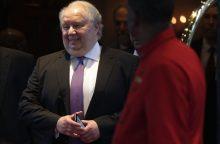 Rusijos ambasadorius JAV S. Kisliakas baigė savo kadenciją