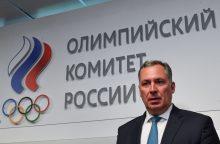 Rusija įsitikinusi, kad dalyvaus kitose olimpinėse žaidynėse