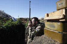 Rytų Ukrainoje žuvo du ukrainiečių kariai, dar šeši sužeisti