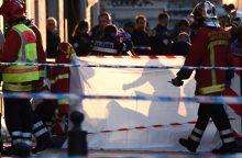 Marselyje policija nušovė užpuoliką, subadžiusį du žmones