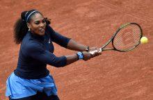 S. Williams – atvirojo Prancūzijos teniso čempionato antrajame rate
