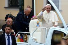 Istorikas apie raginimą priimti pabėgėlius: popiežius nėra burtininkas