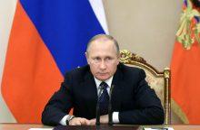 V. Putinas skirs dotaciją rusų sirgaliaus muzikos instrumentui sukurti