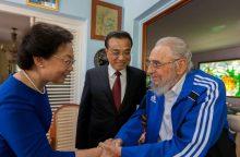 Kubos žiniasklaida trečią kartą per savaitę paskelbė F. Castro nuotraukas