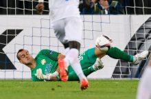 Sutriuškintas Ž. Karčemarskas nepateko į Europos lygos aštuntfinalį