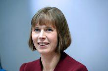 """Estijos prezidentė: šaliai pirmininkaujant ES Tarybai, """"Brexit"""" nebus pagrindinė tema"""