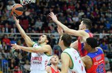 """Eurolyga: į finalo ketvertą pateko """"Fenerbahče"""" ir CSKA"""