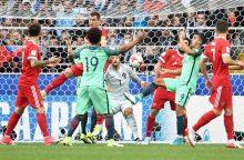 Konfederacijų taurė: Portugalija įveikė Rusiją