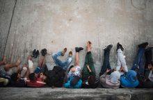 Rumunijos policija sunkvežimyje rado 91 migrantą iš Sirijos ir Irako