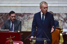 Naujasis Prancūzijos parlamentas per pirmąjį posėdį pirmininku išrinko F. de Rugy