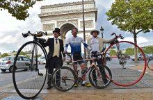 Aplink pasaulį per 79 dienas, britų dviratininkas pagerino pasaulio rekordą