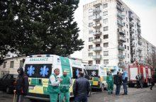 Tbilisyje per sprogimą daugiabutyje žuvo trys žmonės