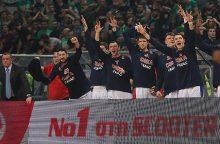 """L. Lekavičius sėdėjo ant suolo, """"Panathinaikos"""" krito prieš CSKA"""
