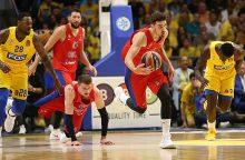 CSKA krepšininkai Eurolygoje iškovojo antrąją pergalę