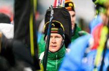 Lietuvos biatlonininkų viltis sudaužė netaiklūs šūviai
