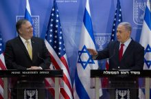 M. Pompeo: Izraelis turi teisę gintis nuo Irano