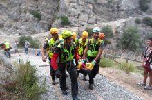 Italijoje per iškylą tarpeklyje žuvo penki žmonės