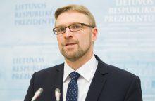 Paskirtasis ministras L. Kukuraitis siūlo keisti pabėgėlių priėmimo tvarką