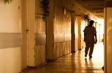 Policininkams teko tramdyti agresyvią ligoninės pacientę