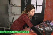 Jaunos lietuvės menininkės darbais susižavėjo suomiai