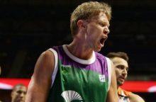 M. Kuzminsko komanda Ispanijos krepšinio lygos ketvirtfinalyje vėl suklupo
