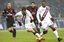 """""""Serie A"""": """"AC Milan"""" išplėšė lygiąsias"""