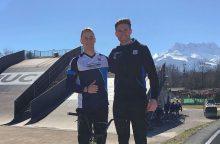 Pasaulinio dviračių sporto centro BMX komandoje – ir lietuvis