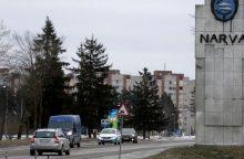 NATO pajėgų dislokavimas Estijoje kelia nepasitenkinimą rusiškame Narvos mieste
