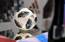 Pasaulio futbolo čempionato kamuolys apsilankys kosmose