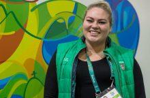 S. Pakenytė iškovojo antrą universiados medalį