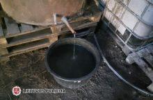 Kalvarijoje rastas aparatas naminei degtinei gaminti