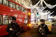 Londone per netikrą teroro atakos pavojų nukentėjo 16 žmonių