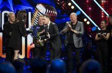 """""""Dainuoju Lietuvą"""" – sveikinimai Z. Kelmickaitei ir A. Rožickui"""