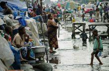 Kongo Demokratinėje Respublikoje potvyniai nusinešė 12 gyvybių