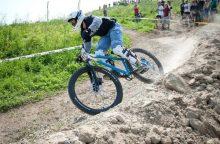 Iš lietuvių kalnų dviračių lenktynės sėkmingiausios buvo J. Maišeliui