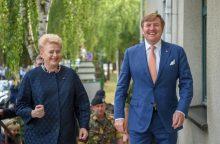 D. Grybauskaitė: Nyderlandai padeda užtikrinti Lietuvos saugumą
