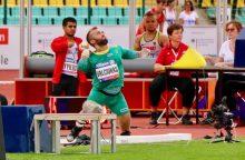 E. Valčiukas Europos neįgaliųjų čempionate iškovojo bronzą