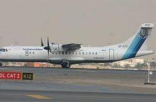 Irane sudužo lėktuvas su 66 žmonėmis